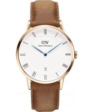 Daniel Wellington DW00100115 Dapper Durham 38 milímetros subiu relógio de ouro