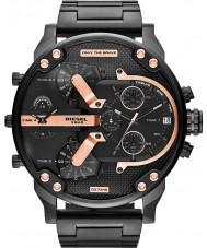 Diesel DZ7312 Mens mr pai 2,0 ip preto multifunções relógio