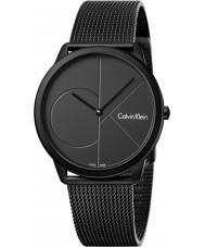 Calvin Klein K3M514B1 Relógio mínimo para homens