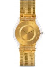 Swatch SFK355M Generosidade de aço de ouro pulseira de relógio