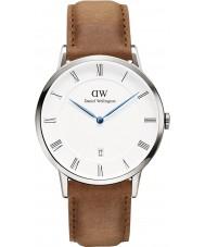Daniel Wellington DW00100116 38 milímetros Dapper relógio Durham prata