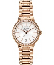Rotary LB90085-02L Ladies les originales subiu relógio de ouro