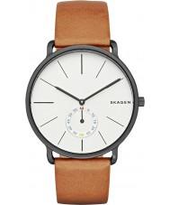 Skagen SKW6216 Mens Hagen tan couro relógio pulseira