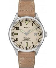 Timex TW2P84500 Homens Waterbury tamanho médio tan couro relógio pulseira
