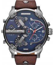 Diesel DZ7314 Mens mr pai 2,0 marrom azul relógio multifuncional