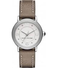 Marc Jacobs MJ1472 Ladies riley castanho claro relógio com pulseira de couro