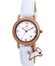 Radley RY2006 Senhoras charme couro branco relógio de pulseira