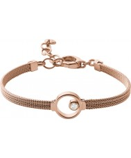 Skagen SKJ0851791 Ladies elin subiu banhado a ouro pulseira