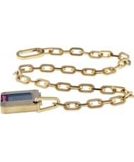 Levis L005GIGHSG Ladies banhado a ouro de aço com relógio digital