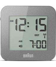 Braun BNC008GY-RC despertador de viagem digital de Cinza