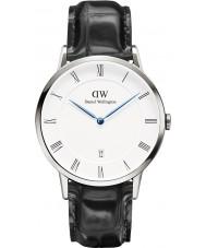 Daniel Wellington DW00100108 38 milímetros Dapper lendo relógio de prata