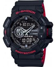 Casio GA-400HR-1AER Mens g-shock tempo do mundo Black Watch combi