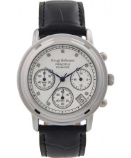 Krug-Baumen 150579DM Mens princípio diamante relógio