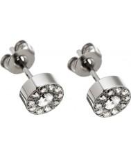 Edblad 41530067 Ladies Thassos pregos de aço em mini prata
