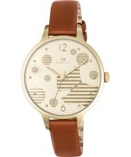Radley RY2398 Ladies Ormond tan relógio com pulseira de couro