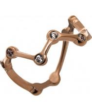 Edblad 41530009-XS Ladies subiu astral anel de ouro - tamanho l (xs)