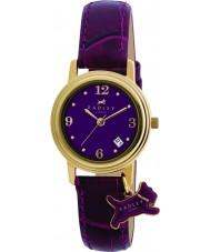 Radley RY2008 Senhoras charme couro roxo relógio pulseira