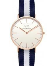 Daniel Wellington DW00100031 Ladies clássico glasgow 36 milímetros subiu relógio de ouro