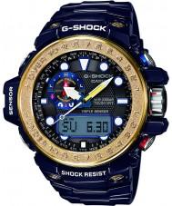 Casio GWN-1000F-2AER Mens g-shock gulfmaster azul triplo do sensor solar de relógio alimentado