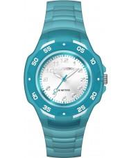 Timex TW5M06400 Crianças azul resina maratona pulseira de relógio