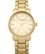Daisy Dixon DD004GM Ladies kate matt ouro marcação espelho relógio banhado