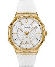 Bulova 98R237 Relógio curvado com diamantes para senhoras