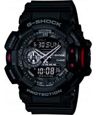 Casio GA-400-1BER Mens g-shock relógio cronógrafo preto