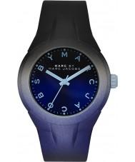 Marc Jacobs MBM5541 Senhoras x - até dois tons pulseira de silicone relógio