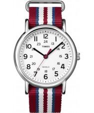 Timex T2N746 Três weekender tom de deslizar através de relógio