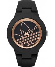 Adidas ADH3086 Aberdeen fosco silicone preta relógio de pulseira