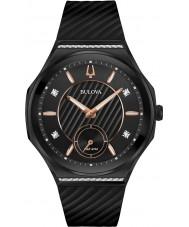 Bulova 98R240 Relógio curvado com diamantes para senhoras