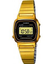 Casio LA670WEGA-1EF ouro recolha banhado relógio digitais