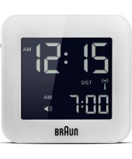 Braun BNC008WH-RC despertador global controlado por rádio viagens - branco