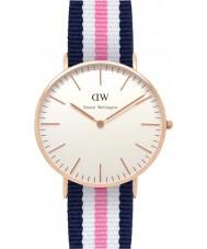 Daniel Wellington DW00100034 Ladies clássico Southampton 36 milímetros subiu relógio de ouro