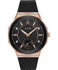 Bulova 98R239 Relógio curvado com diamantes para senhoras