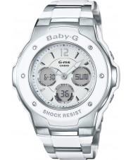 Casio MSG-300C-7B3ER Baby-G tempo do mundo dois tons relógio combi