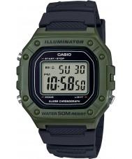 Casio W-218H-3AVEF Mens coleção relógio