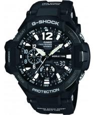 Casio GA-1100-1AER Mens g-shock resina preta relógio de pulseira