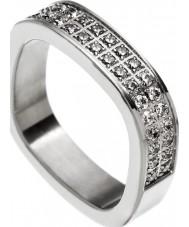 Edblad 83195 Ladies mf jolie anel de aço tamanho - s (XL)