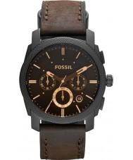 Fossil FS4656 Mens relógio cronógrafo máquina marrom