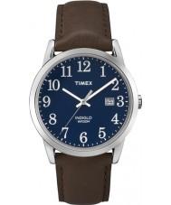 Timex TW2P75900 Mens fácil leitor relógio marrom azul