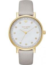 Kate Spade New York KSW1131 Ladies Monterey cinza relógio de pulseira de couro