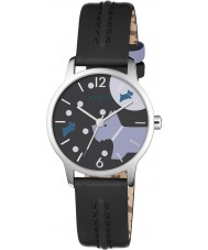 Radley RY2405 As senhoras mais a lua de couro preto pulseira de relógio
