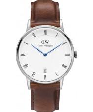 Daniel Wellington DW00100095 34 milímetros Dapper relógio st mawes prata