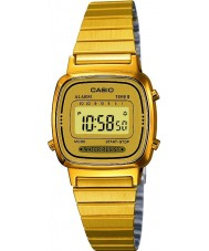 Casio LA670WEGA-9EF ouro coleção de relógios banhados
