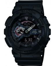 Casio GA-110MB-1AER Mens g-choque matt resina preta relógio de pulseira