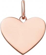 Thomas Sabo LBPE0002-415-12 As senhoras amam ponte 18 quilates em ouro rosa pingente banhado
