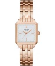 Kate Spade New York KSW1132 Ladies Washington Square subiu banhado a ouro pulseira de relógio