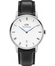 Daniel Wellington DW00100096 34 milímetros Dapper relógio Sheffield prata