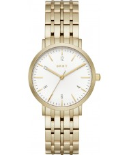 DKNY NY2503 Ladies ouro Minetta pulseira de aço relógio